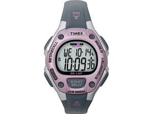 Timex T5K020 WOMENS SPORTS IRONMAN WATCH BLACK PINK
