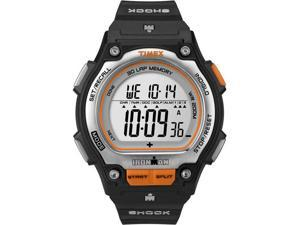Timex Ironman Shock-Resistant Steel 30-Lap - Black/Orange