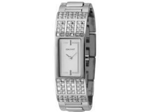 Dkny Crystal Case Silver Bracelet Ladies Watch NY4415