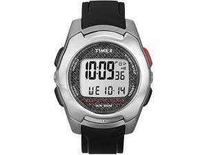 Timex Black Health Touch Heart Rate Monitor Mens Watch T5K470