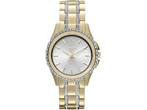 Women's Gold DKNY Brooklyn Crystallized  Steel Watch NY8699
