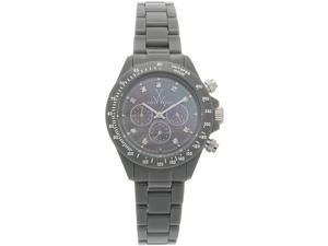 Toywatch Grey Mother of Pearl Chronograph Watch FL21GY
