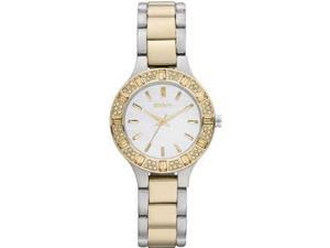 Women's DKNY Two-Tone Mother Of Pearl Dial Watch NY8742