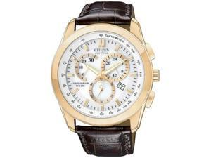 Citizen Eco-Drive Chronograph WR100 White Dial Men's watch #AT1183-07A