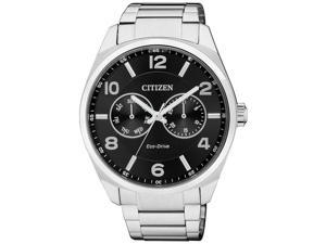 Men's Citizen Eco-Drive Multi-Function Steel Watch AO9020-50E