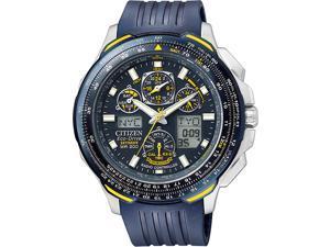 Citizen Eco-Drive Skyhawk Blue Angels Atomic Mens Watch JY0064-00L