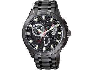 Citizen BL8097-52E Men's Eco-Drive Calibre 8700 Black Ion-Plated Stainless Steel Watch