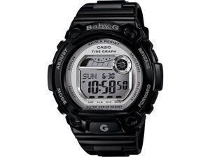 Casio Women's Baby-G BLX103-1 Black Resin Quartz Watch with Digital Dial