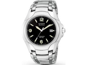 Citizen Men's BM6060-57F Eco-Drive Black Dial Titanium