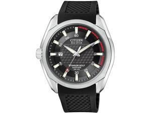 Citizen Titanium Golf Eco Drive Mens Watch BM7120-01E