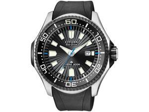 Citizen Eco-Drive ProMaster Diver 30 Bar Black Dial Men's Watch BN0085-01E