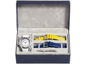 Nautica Boxed Set Mens Watch With 3 Straps N14524G