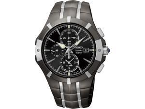 Men's Seiko Coutura Solar Power Chronograph Watch SSC199