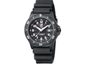 Luminox Men's Black Ops 8401 Black Polyurethane Analog Quartz Watch with Black Dial