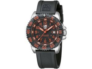 Luminox 3165 Men's Red Numeral Steel Colormark Watch