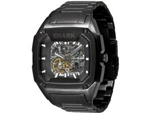 Men's Black Freestyle Shark Killer Automatic Watch 101828