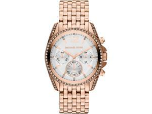 Women's Michael Kors Pressley Chronograph Glitz Watch MK5836