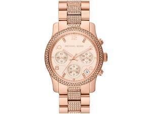 Women's Michael Kors Runway Chronograph Glitz Watch MK5827