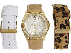 GUESS Interchangeable Straps Box Set Ladies Watch U13597L1