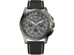 Guess Chronograph Black Silicone Strap Mens Watch SU14501G2
