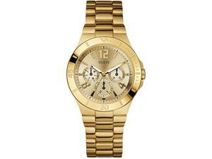 GUESS Gold Tone Stainless Steel Ladies Watch U12631L1