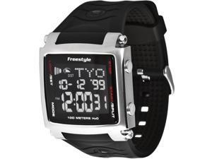 Freestyle Lopex III World Time Black Strap Black Dial Men's Watch #FS81321