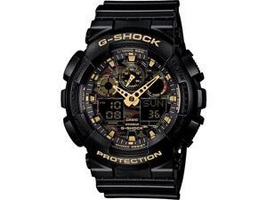 Black Casio G-Shock Analog Digital Camouflage Watch GA100CF-1A9
