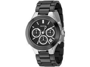 DKNY Ceramic Chronograph Black Dial Women's watch #NY4914
