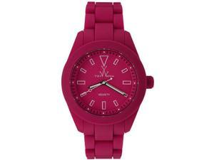 Women's Pink Toywatch Velvety Smooth Rubber Watch VV17PS