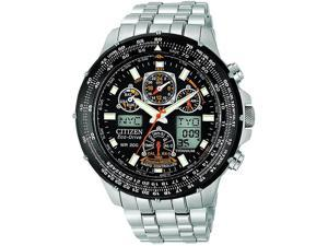 Citizen Eco-Drive Titanium Skyhawk Atomic Mens Watch JY0010-50E
