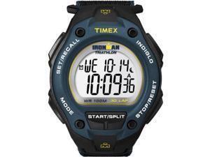 Timex Men's Ironman T5K413 Black Satin Quartz Watch with Silver Dial