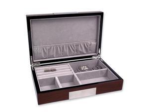 Walnut Lacquer Jewelry Box