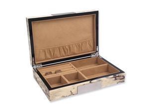 Exotic Ice Burlwood Jewelry Box
