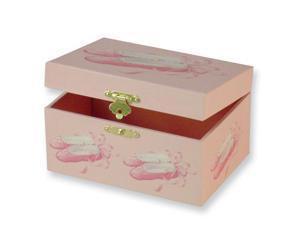 Children's Ballerina Slippers Music Jewelry Box