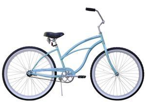 Firmstrong Women's Baby Blue Cruiser Bike