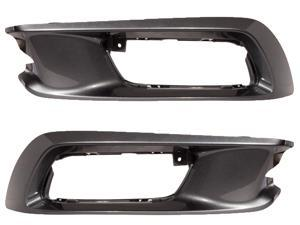 HONDA CIVIC 12 2012 front bumper FOG LIGHT BEZEL COVER TRIM INSERT HO1037102 SET