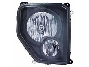 JEEP LIBERTY 10-12 with Fog Lamp with Black Bezel TYPE HEAD LIGHT CH2503227 RH