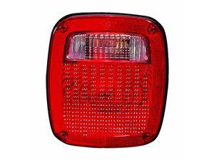 JEEP WRANGLER 87 - 90 REAR TAIL LIGHT LAMP with BULB CH2801116 56006516 RH