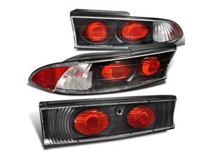Mitsubishi Eclipse 3 pieces Altezza Tail Trunk Lights Black