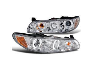Pontiac Grand Prix Dual Halo Led Chrome Projector Headlights Corner 1Pc