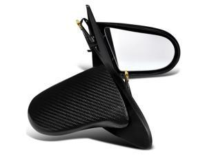 Acura Rsx Type S Base 2 Door Coupe Carbon Fiber Power Side Mirrors Pair