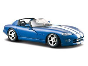 Maisto 1:24 Metallic Blue 1997 Dodge Viper RT/10