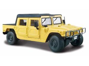 Maisto 1:27 Scale Yellow Hummer (Soft Top)