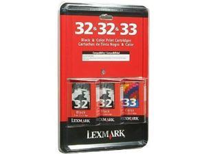 Lexmark Black & Color Print Cartridge Combo Pack