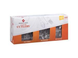 Member's Mark Clear Cutlery Combo Pack - 360 ct.