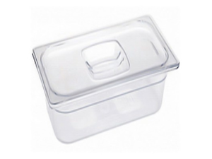 Rubbermaid 1/3 Size Cold Food Pans with Lids 2-6""
