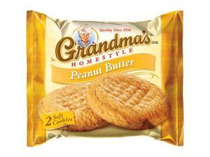Grandma's Peanut Butter Big Cookie, 2.5 Oz Bag 20pk