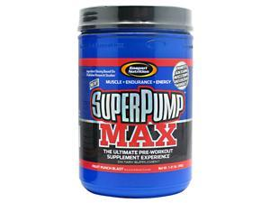 SuperPump Max Fruit Punch Blast - Gaspari Nutrition - 1.41 lb - Powder