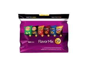 Frito Lay Flavor Mix Variety Pack 1oz. Bags 20ct (Pack of 6)