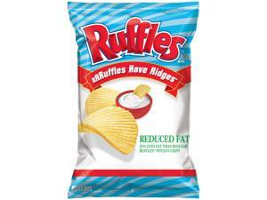 Ruffles Reduced Fat Potato Chips, 8.5oz Bags (Pack of 11)